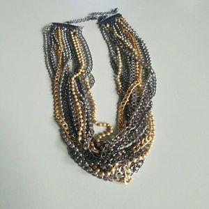 NWOT Lia Sophia Multi Chain Necklace